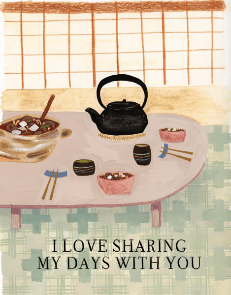 Sharing My Days With You
