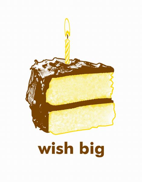 Wish Big Cake