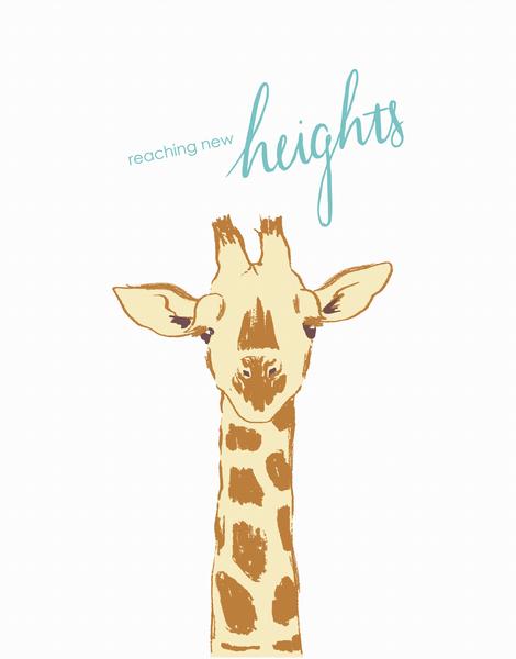 Giraffe Graduation