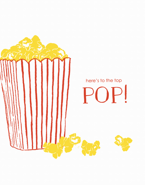 Popcorn Father's Day