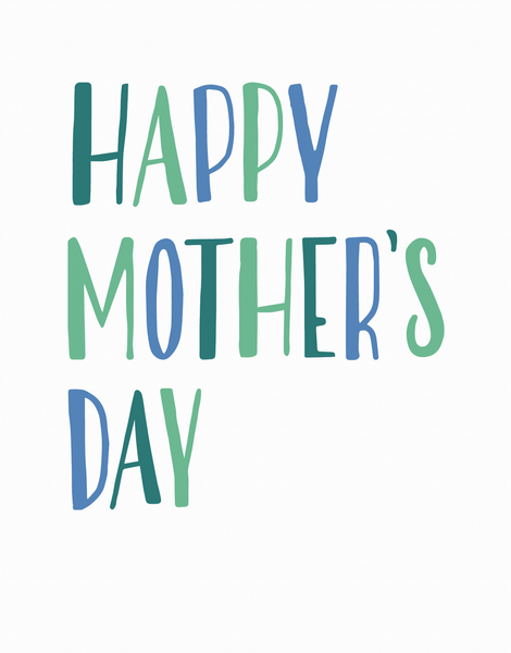 Simply Lettered Mother's Day