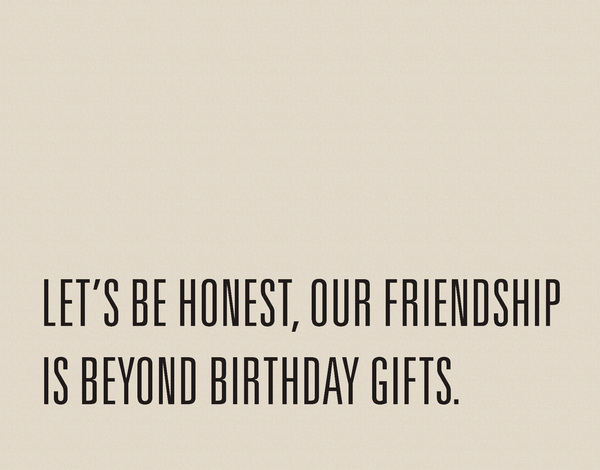 Funny Birthday Card For Friends