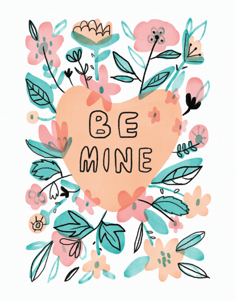 Floral Be Mine