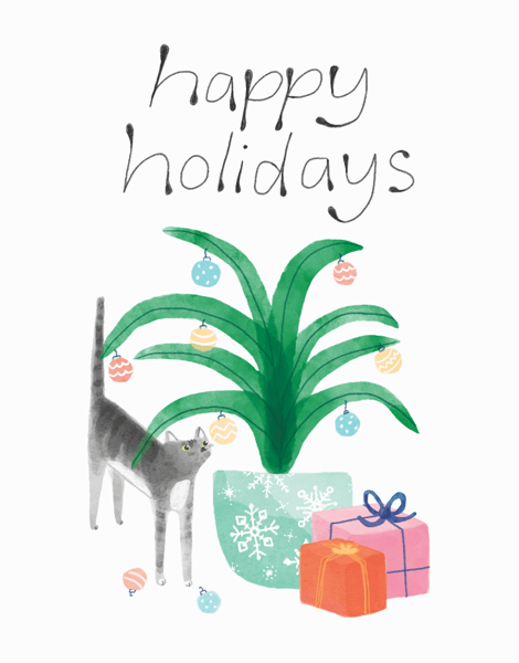cat-and-presents-happy-holidays