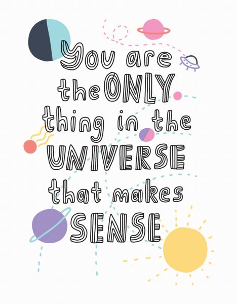 Sense In The Universe