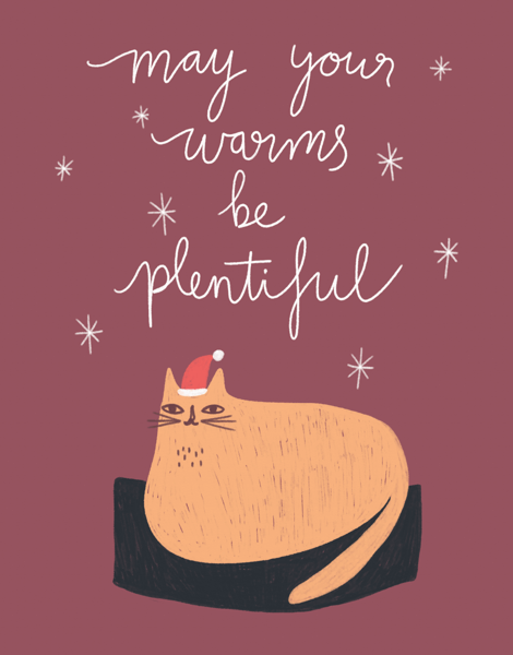cat-holiday-warm-wishes-card