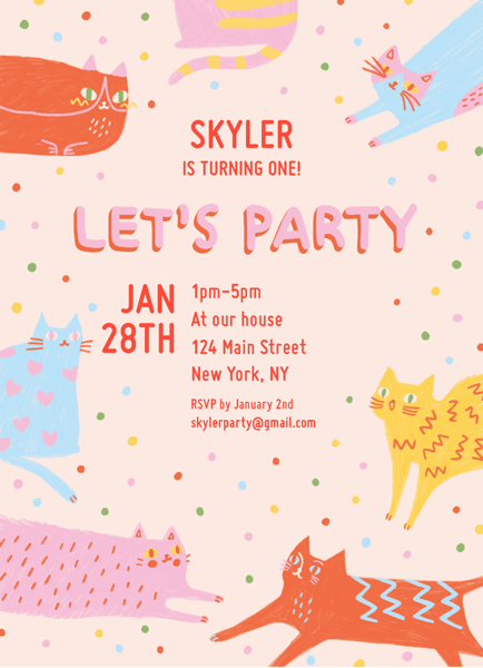 Let's Party Cats