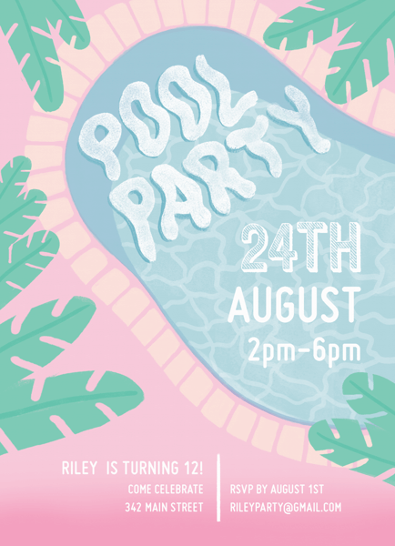 Cool Pool Party
