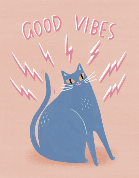 Good Vibes Cat