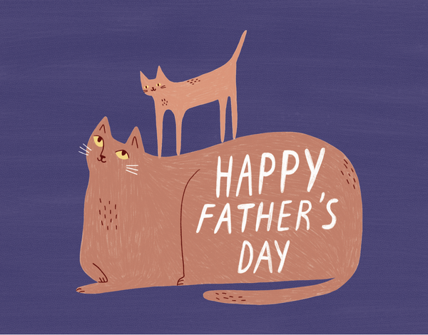 Father's Day Cats