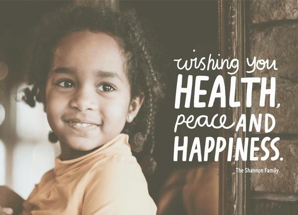 Wishing Health Holiday