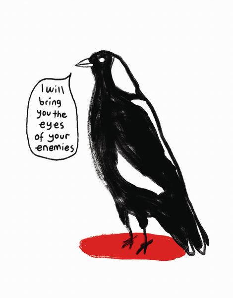 Intense Bird