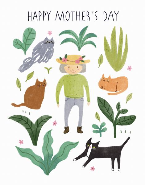 Cat Lady Garden