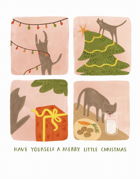 Merry Little Cat