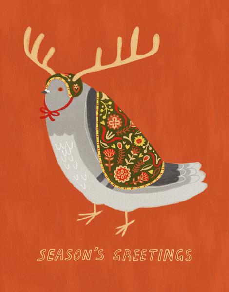 Pigeon Antlers