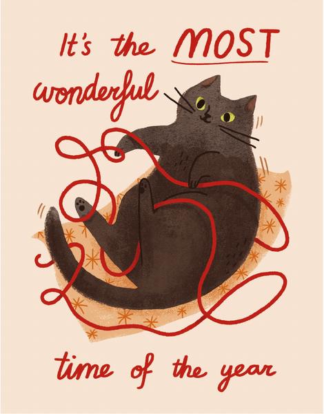 Wonderful Time Cat