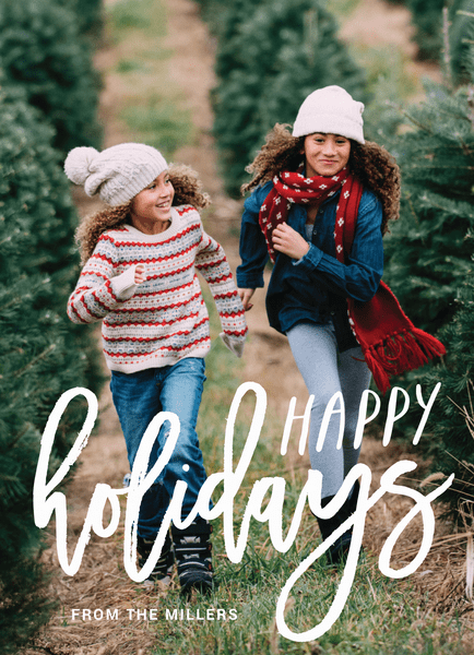hand-scripted-happy-holidays-photo-card