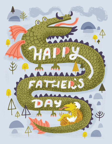 Father's Day Dragon