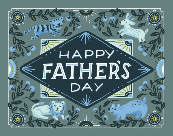 Father's Day Animals