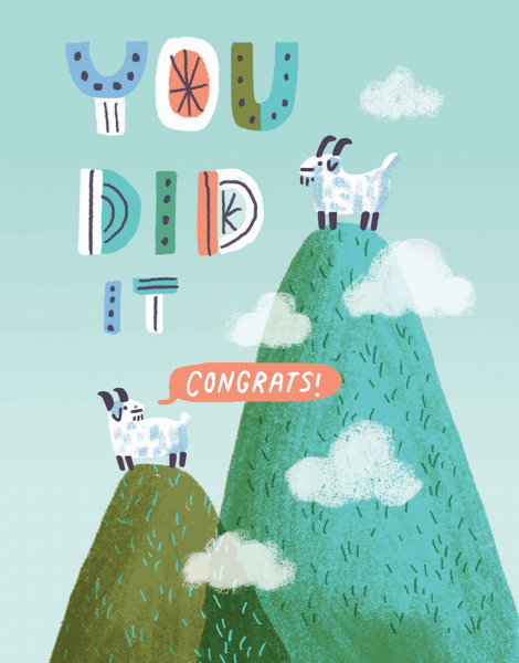 You Did It Goats