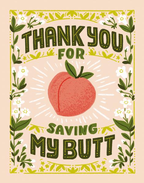 Saving My Butt