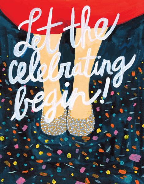 Let The Celebrating Begin