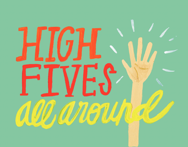 High Fives All Around
