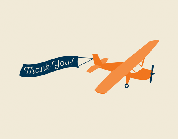 Airplane Thank You