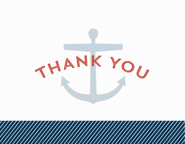 Nautical Thank You