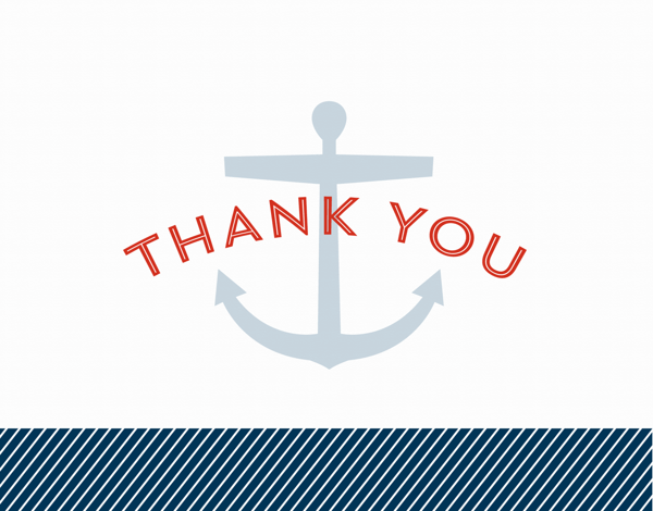 Nautical Thank You
