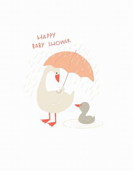 Rainy Day Geese