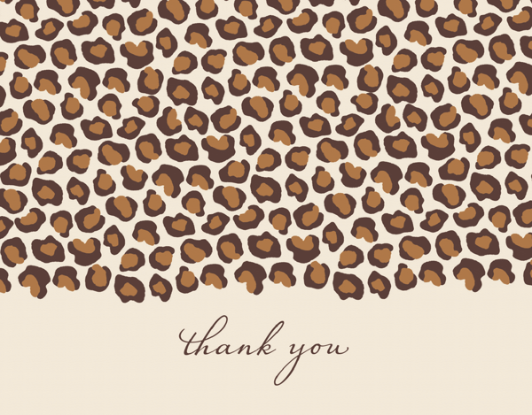 Leopard Thank You