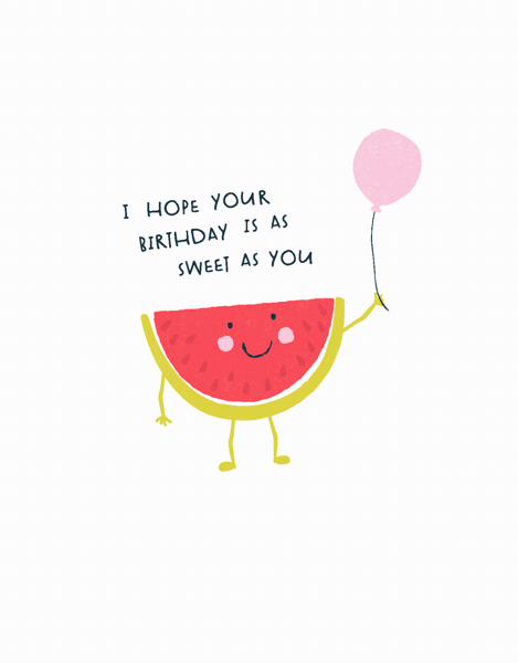 Watermelon Birthday