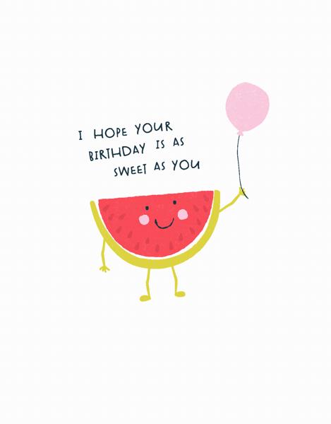 Watermelon Birthday