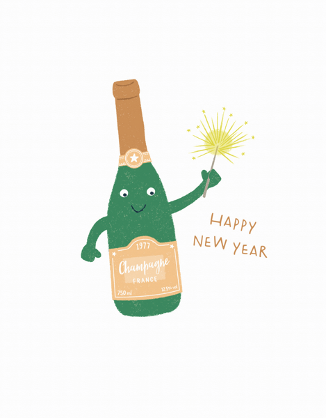 Champagne New Year