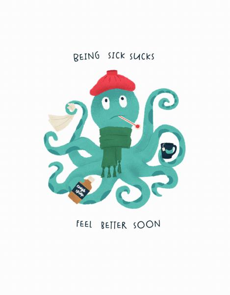 Sick Octopus