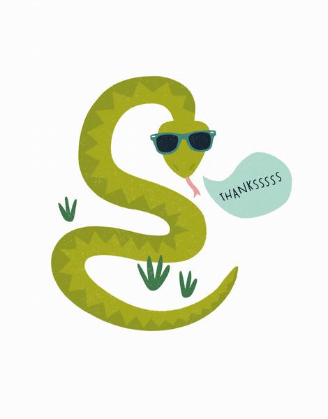 Snake Thanks