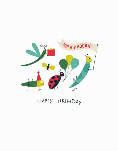 Birthday Bugs