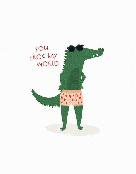 Croc My World