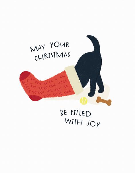 Stocking Dog
