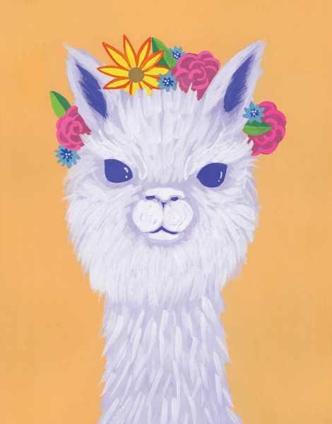 Alpaca Crown