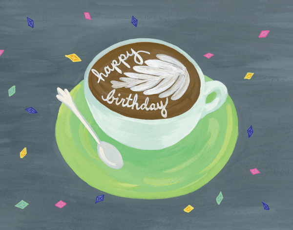 Birthday Cappuccino