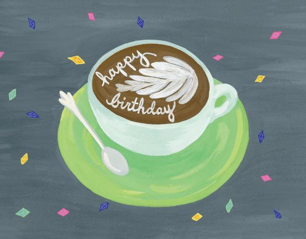 Birthday Cappuccino