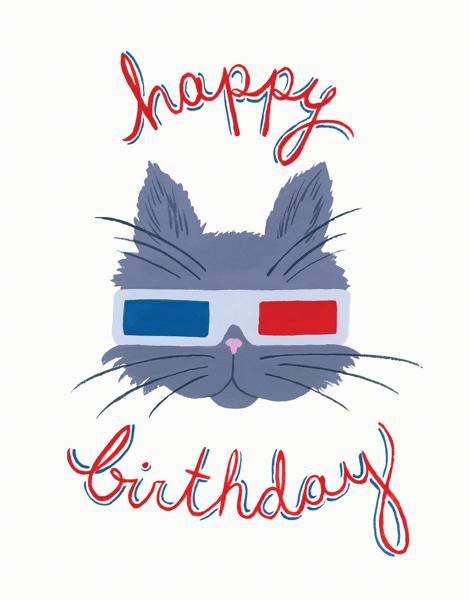 Birthday Cat