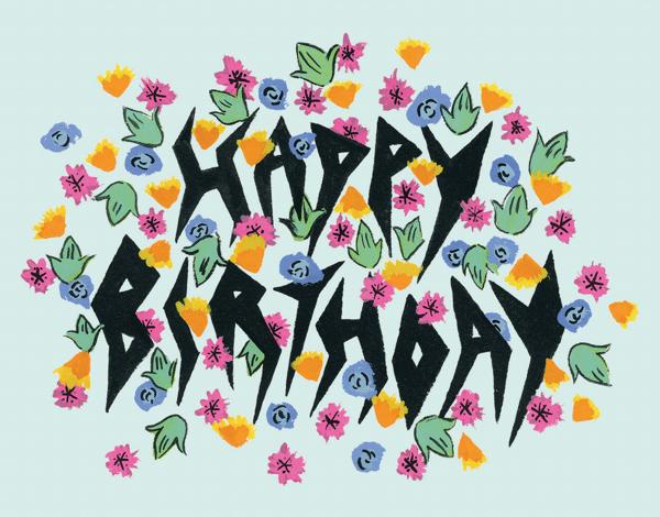 Birthday Lightening