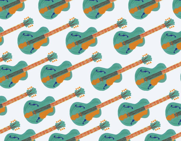 Guitar Pattern