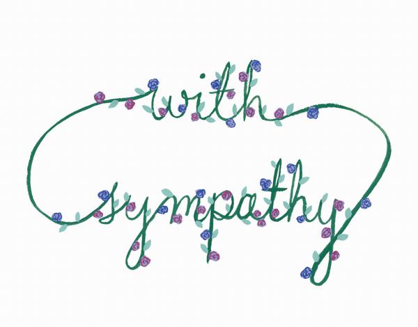 Sympathy Flower