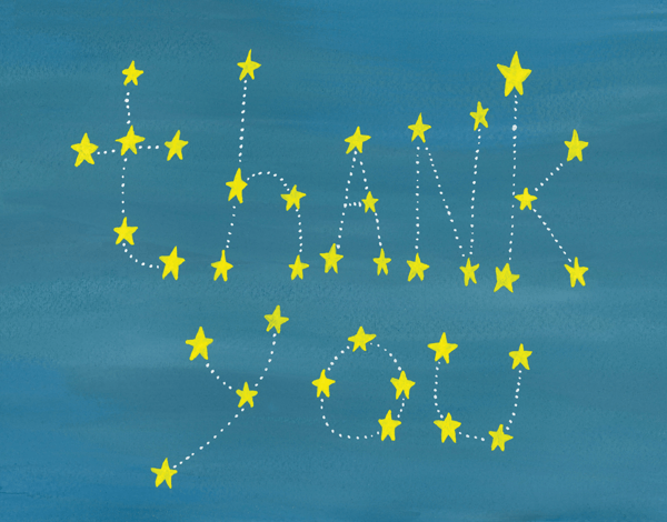 Thanks Constellation