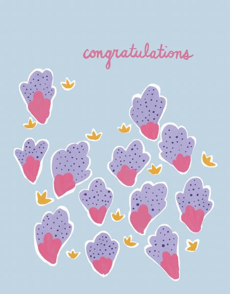 Purple Dot Congrats