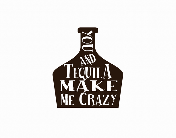You And Tequila Love Card